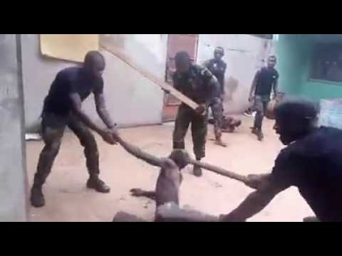 Gross human rights abuse by the cameroonian military