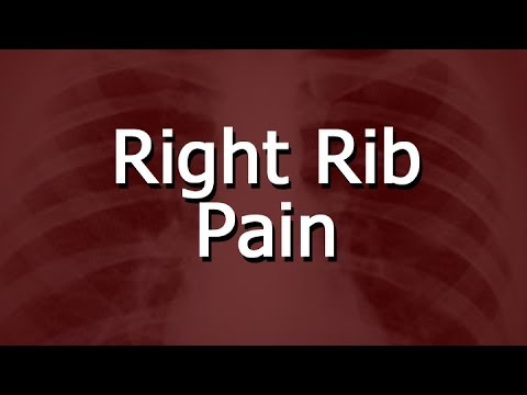 Right Rib Pain