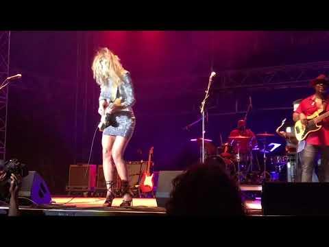 "Ana Popovic ""Going Down_Crosstown Traffic"" @ Va Beach American Music Festival"