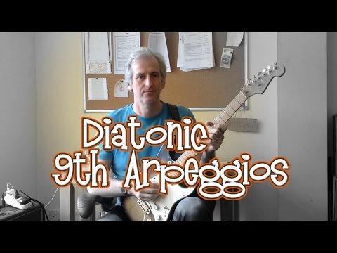 Playing 9th Arpeggios: Guitar Lesson