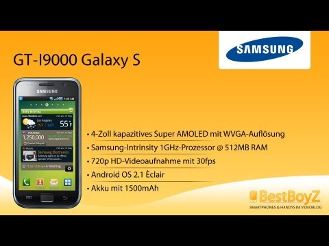 Review: Samsung GT-I9000 Galaxy S | BestBoyZ