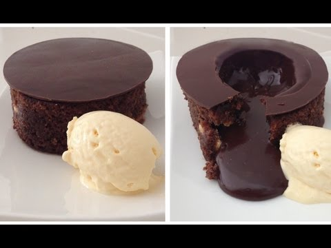 Magic Chocolate Lava Cake by ANN REARDON HowToCookThat