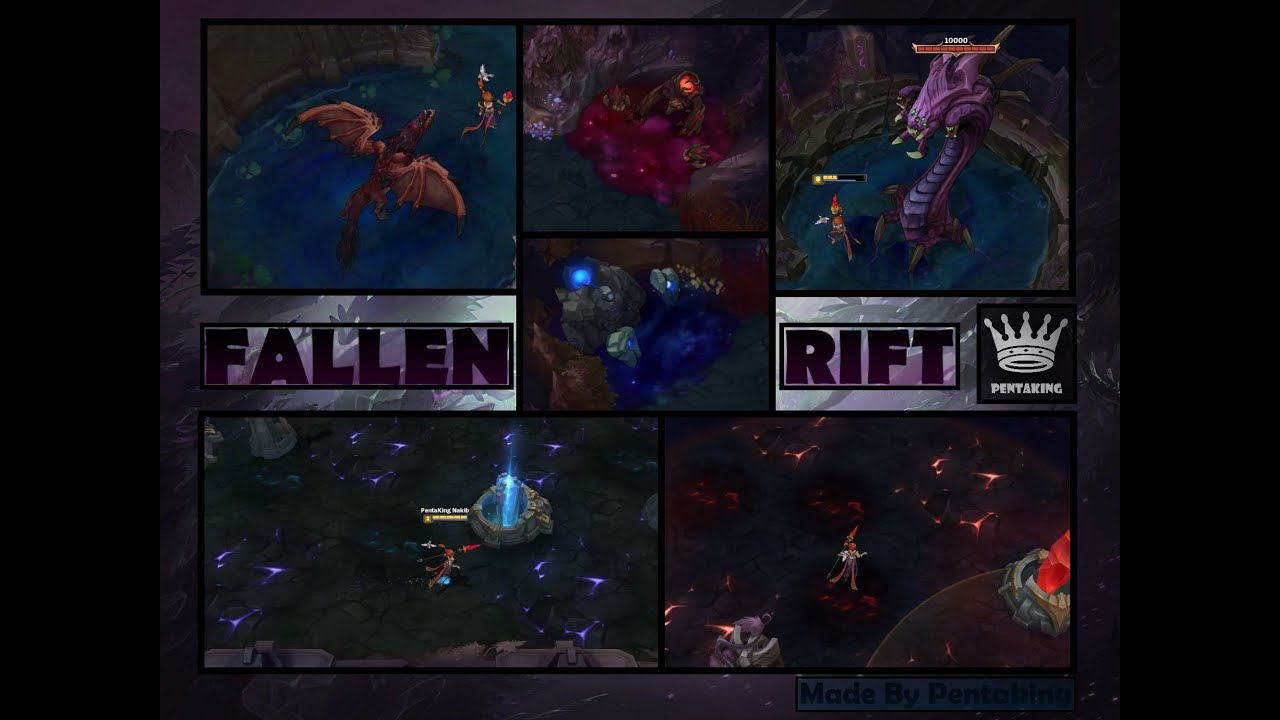 Fallen Rift V1 - League of Legends Map Skin - YouTube
