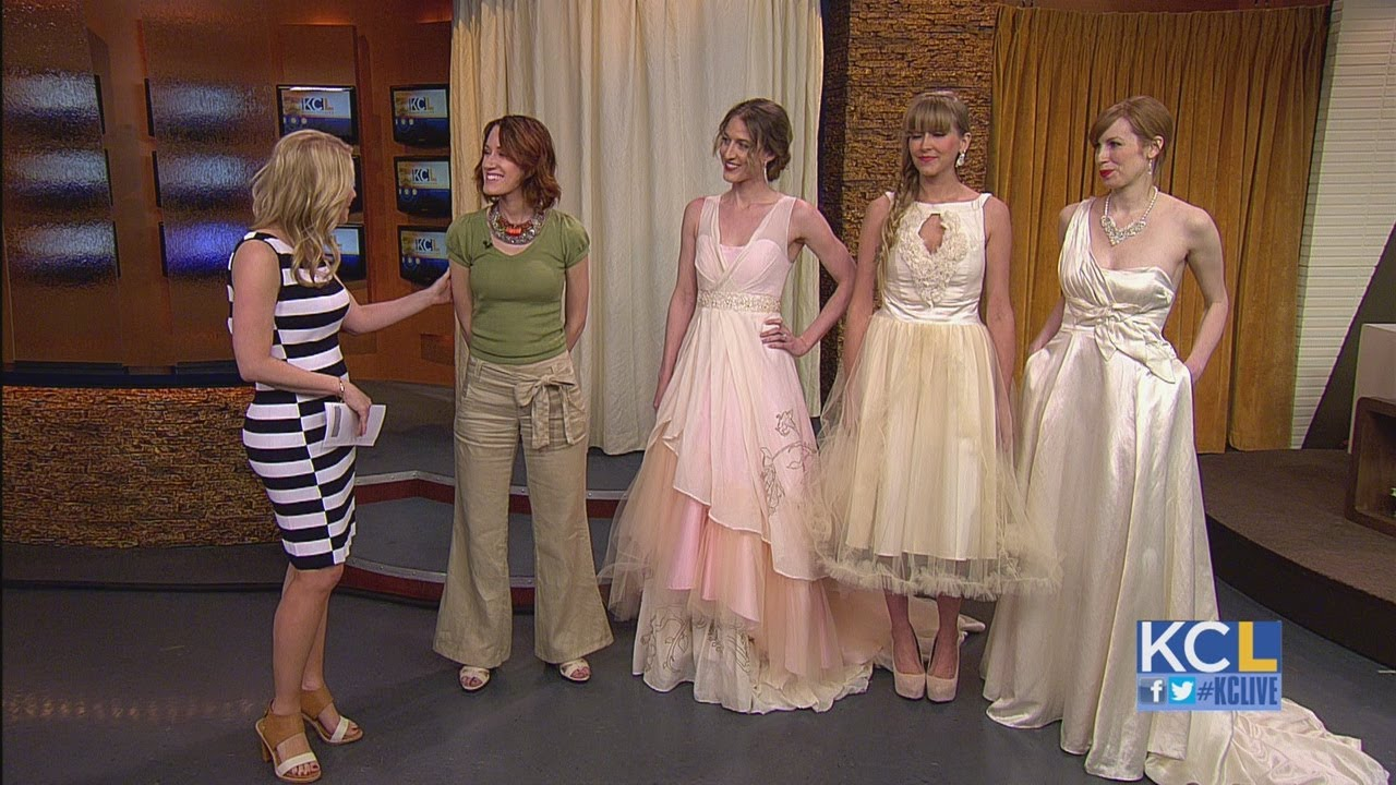 KCL - Eco Friendly Wedding Dresses - YouTube