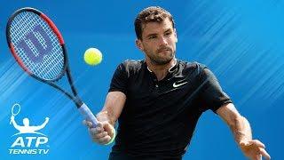 Brilliant Grigor Dimitrov shots in win vs Benneteau | Queen's 2017 Highlights thumbnail