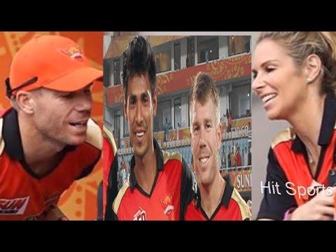 ইতিহাসের পাতায় মুস্তাফিজ ভক্ত ডেভিড ওয়ার্নার || australian cricketer david warner in ipl hyderabad