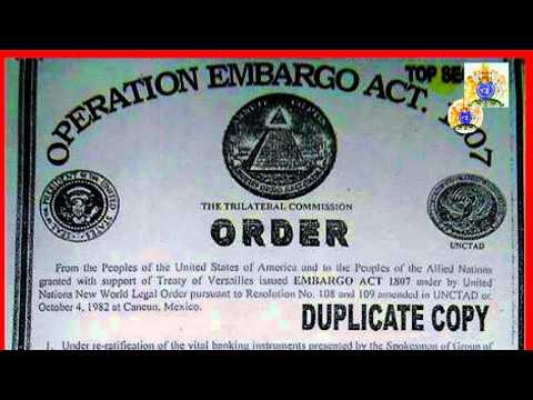 HRH. TVM-LSM-666 Embargo Power per Embargo Act 1807 (1952 & 1982)