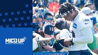 Seahawks Mic'd Up: Bradley McDougald at Training Camp
