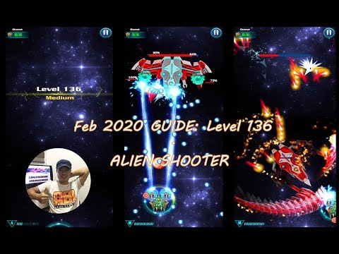 Level 136 ALIEN SHOOTER Quick Tips | Version Mar 2020 | GALAXY ATTACK | Space Game Mobile