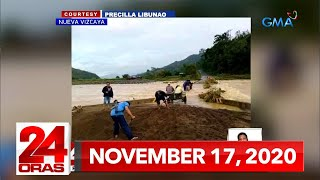 24 Oras Express: November 17, 2020 [HD]