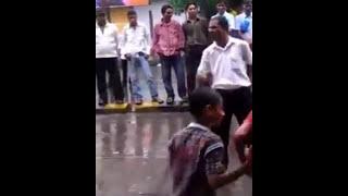 Switty Tera Pyar Chaida - Funny man dancing on road !!