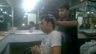 weird head and upper body massage at night in bangladesh part 3