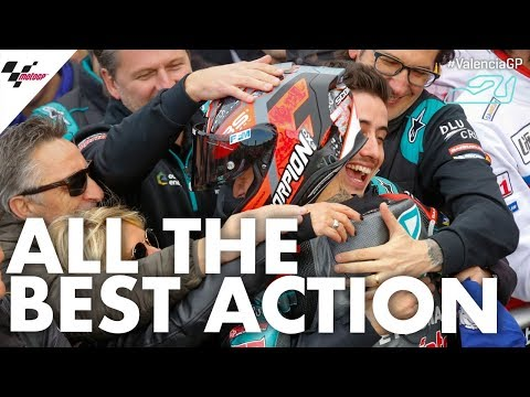All of the Best Action   2019 #ValenciaGP