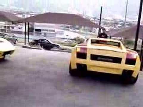 Lamborghini Gallardo En Monterrey Mexico Youtube