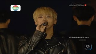 Download Video 180718 Asian Games Torch Relay Concert 2018 B.A.P - HANDS UP [MemoryLane] MP3 3GP MP4