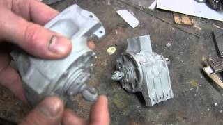 1 6th scale german sdkfz 222 armored car project video 3 differential mounting
