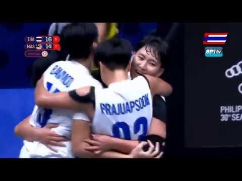 ไฮไลท์ บาสเกตบอลหญิง 3x3 ซีเกมส์ 2019 ไทย vs มาเลเซีย (รอบรองฯ)
