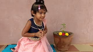 /Bhagavad Gita /shloka 2.7 /baby Dhanishka /Inspired by /baal Gopal