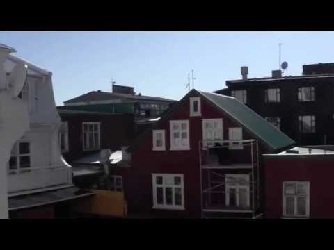 Room Tour - Room with a View Hotel:  Reykjavik Iceland