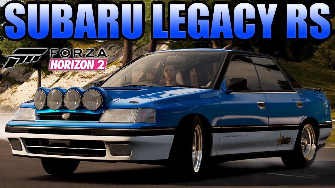 forza horizon 2  drifting - #2 1990 subaru legacy rs
