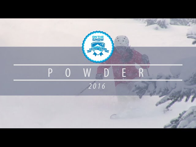 OnTheSnow Editors' Choice Skis: 2015/2016 Women's Powder