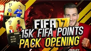 15.000 FIFA POINTS PACK OPENING  // FIFA 17 ULTIMATE TEAM
