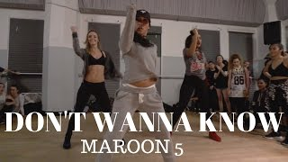 Here is the class version of my choreography to Don't Wanna Know by...
