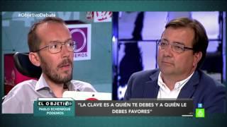Pablo Echenique ridiculiza al candidato del PSOE de Extremadura
