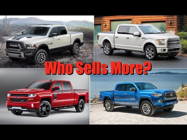 Year Wrap-Up: Who Won the 2017 Pickup Truck Sales War in the