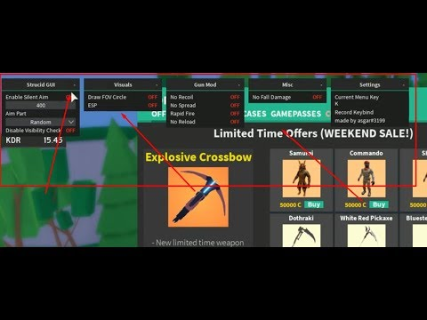 Best Aimbot For Strucid New Working Roblox Hack Script ...