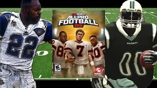 CAN BIGGIE PHATS OUT RUSH EMMITT SMITH? ALL PRO FOOTBALL 2K8