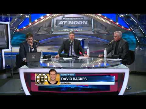 Bruins' Backes Explains What He Believes Caused The Team To Start Clicking