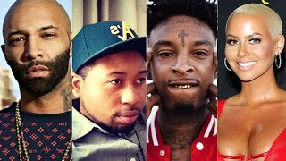 21 Savage UPSET with DJ Akademiks Comments on Amber Rose says Joe Budden Resimi