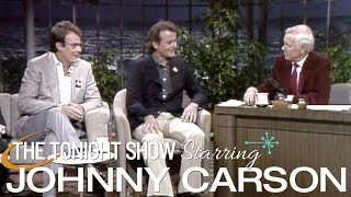 Dan Aykroyd and Bill Murray Make Their First Appearance and Talk Ghostbusters - Carson Tonight Show