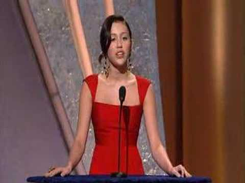 Miley Cyrus Presenting at the Oscars - Feb 24th 2008 - HDTV