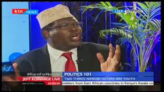 Miguna Miguna and Esther Passaris Ugly Gubernatorial Race