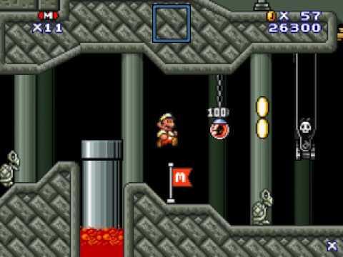 Super Mario Flash 3 Custom Level - Clockwork Counterstrike