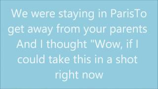 Lyrics-lagu The chainsmokers - Paris