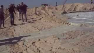 New Suez Canal: Journalists inside the basin sedimentation new channel