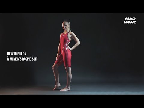 How To Put On A Womens Tech Suit - By Mad Wave