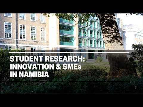 Student Research: Innovation and SMEs in Namibia