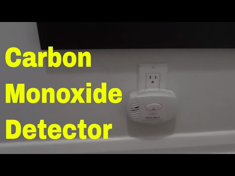 First alert smoke and carbon monoxide detector beeping 5 times