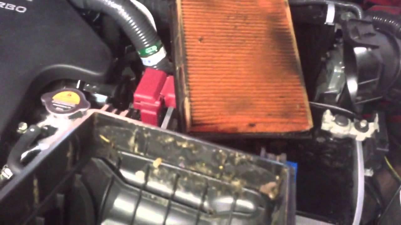 medium resolution of air filter change on 2012 nissan juke sl turbo