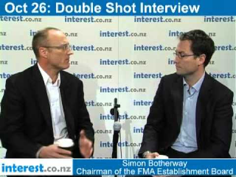Double Shot Interview: Simon Botherway chairman of the FMA Establishment Board - Part 1