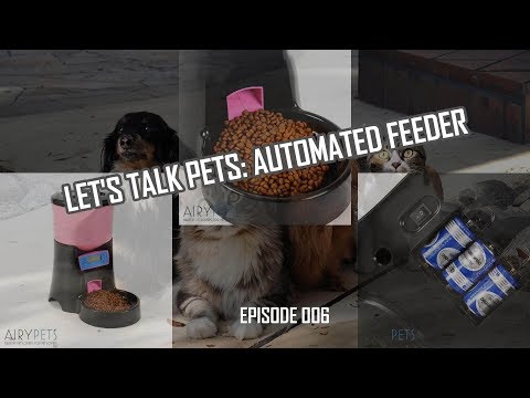 Let's Talk Pets: Automating Cat or Dog Feeding (006)