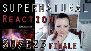 Supernatural Reaction 7x23 Finale