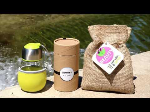 Активен и здрав - Summer Fit Tea (лимитирана серия чай + детокс бутилка)