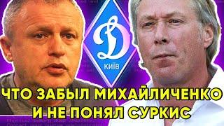 Что забыл Алексей Михайличенко и не понял Игорь Суркис Динамо Киев новости футбола