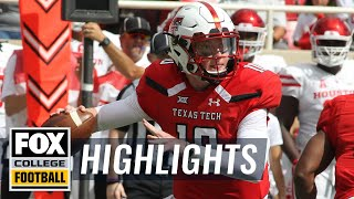 Texas Tech vs Houston | FOX COLLEGE FOOTBALL HIGHLIGHTS