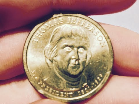 United States Dollar Coin: Thomas Jefferson